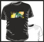 KOOLART TYRE TRAX 4x4 Design for Retro Land Rover Discovery 1 & 2 mens or ladyfit t-shirt